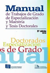 Manual De Trabajos De Grado Upel 2016 Pdf