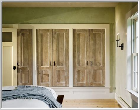 custom bifold closet doors home design ideas