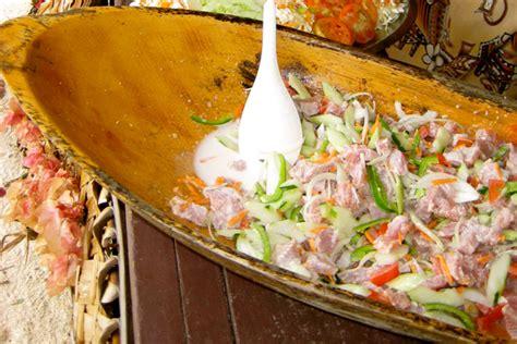 bora cuisine a taste of tahiti poisson cru tahiti com