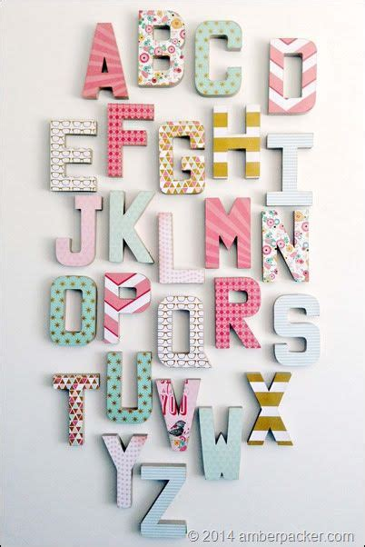 Check out our alphabet wall decor selection for the very best in unique or custom, handmade pieces from our wall magical, meaningful items you can't find anywhere else. Alpha1_4x6   Alphabet decor, Decoupage letters, Baby nursery diy