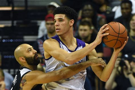 lonzo ball   bad summer league debut hell  fine