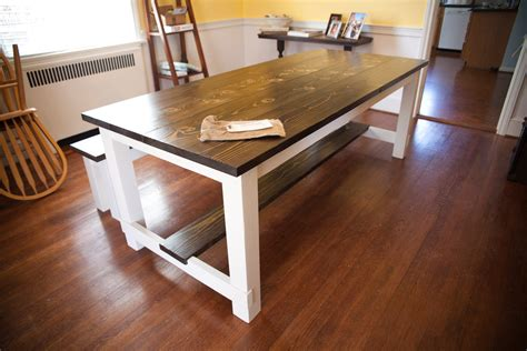 solid wood farmhouse table 8 39 harvest table solid wood farmhouse dining table with