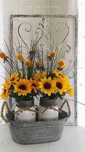 sunflower home decor independent kitchen bath in 16 With best brand of paint for kitchen cabinets with mason jar wall art