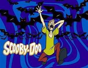 Cartoon Scared Shaggy Of Scooby Doo Scooby Dooby Doo