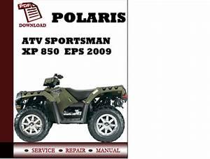 Polaris Sportsman Xp 850 Service Repair Pdf Manual 2009 2011