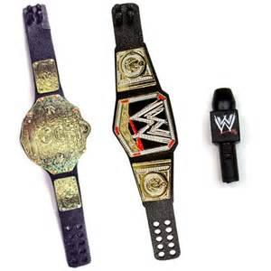 WWE Action Figure Belts