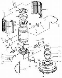 Toyoset Portable Kerosene Heater Parts