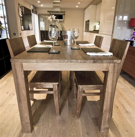 nusa reclaimed wood dining table cm   wooden