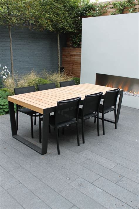 Outside Patio Table by Outdoor Wooden Tables 15 Beautiful Designs Houz Buzz
