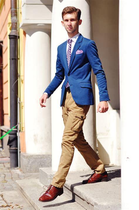 CARGO PANTS + BLUE JACKET // menu0026#39;s fashion blog