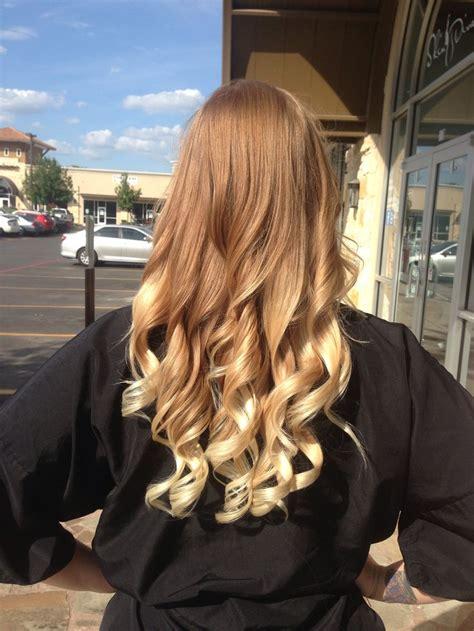 strawberry blonde ombre hair  pinterest