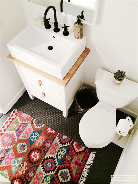 small bathroom rugs 15 artistic rugs in your bathroom home design