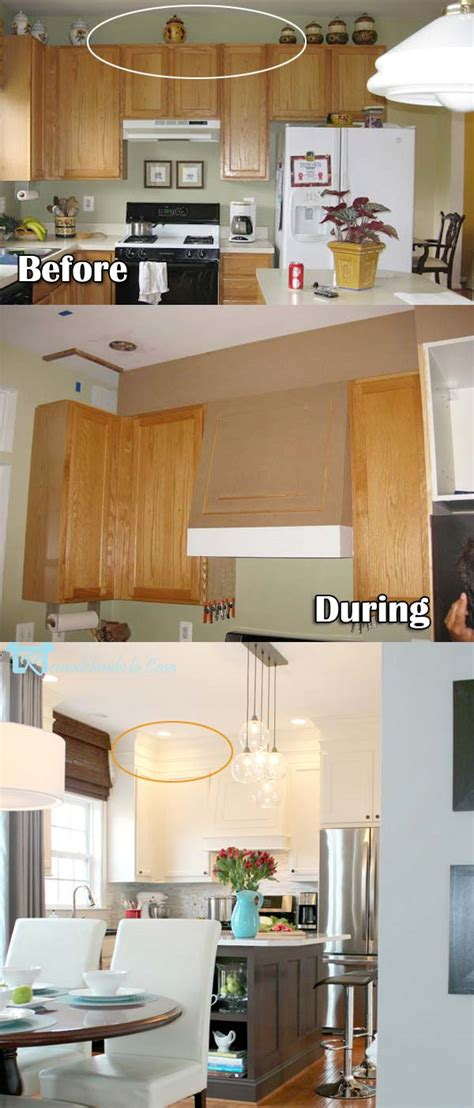 diy kitchen cabinet decorating ideas 20 stylish and budget ways to decorate above