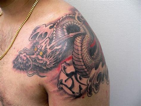 japanese designer shoulder tattoos
