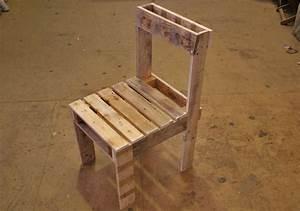 Fabriquer Un Fauteuil : fabriquer chaise en palette ~ Zukunftsfamilie.com Idées de Décoration