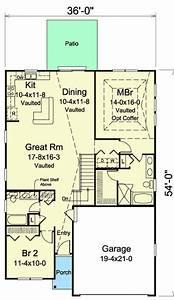 Plan Maison 8x16