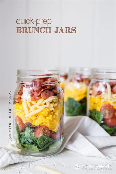quick prep healthy brunch jars ketodiet blog