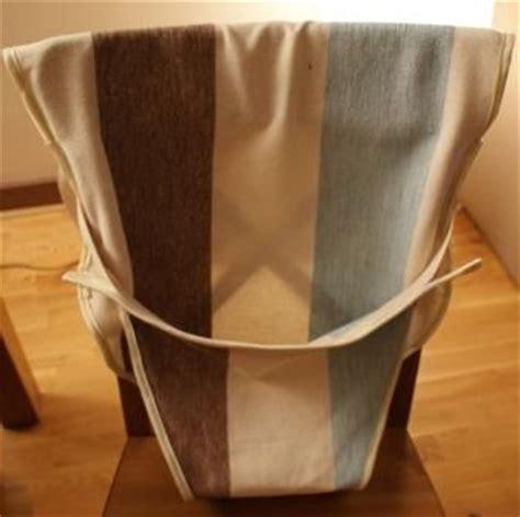 housse de siege simili cuir une chaise nomade en tissu pour bb boule2laine créative