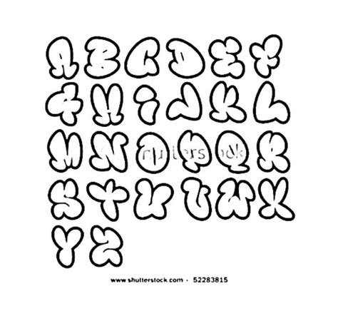 Hip Hop Graffiti Kleurplaat by Graffiti Alphabet Letters Hip Hop Coloring Book