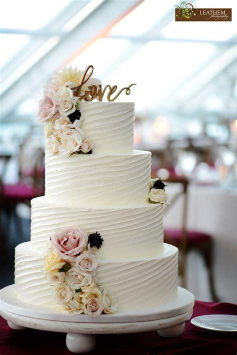 Adorned Buttercream Cake Floral Fresh Gorgeous