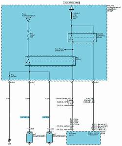 2003 Hyundai Santa Fe Air Conditioning Wiring Diagram