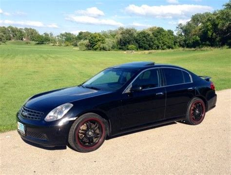 Sell Used 2005 Infiniti G35 Rwd Manual Sedan In Woodstock