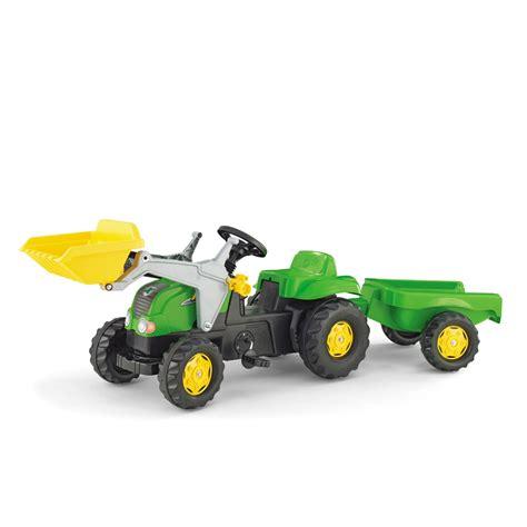 traktor mit anhänger traktor f 252 r kinder mit anh 228 nger 112 99