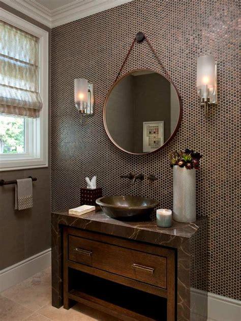 penny tile backsplash ideas pictures remodel  decor