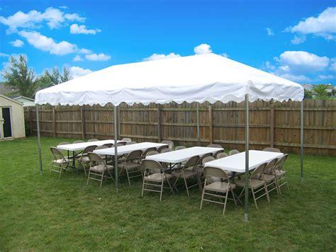 canopy tent rentals michiana party rentals