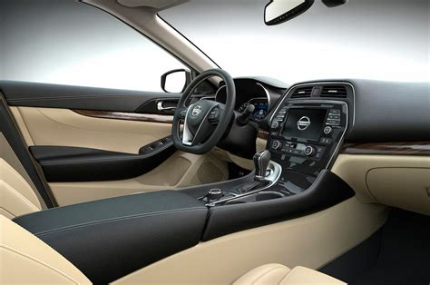 2016 Nissan Maxima Interior by 2016 Nissan Maxima Drive Review Motor Trend