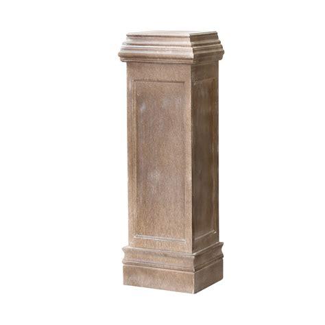 Column Pedestal by Wooden Pedestal Column Becara Tienda