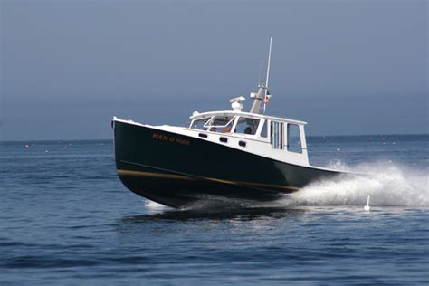 Used Fishing Boats In Maine by Evolution Of The Maine Lobsterboat Maine Boats Homes