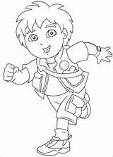 Diego Coloring Pages Go Printable sketch template