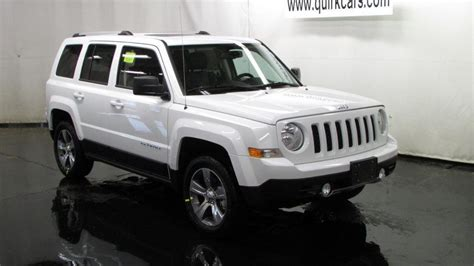 Three Type Of 2017 Jeep Patriot With Specs And Feature 187 Rti