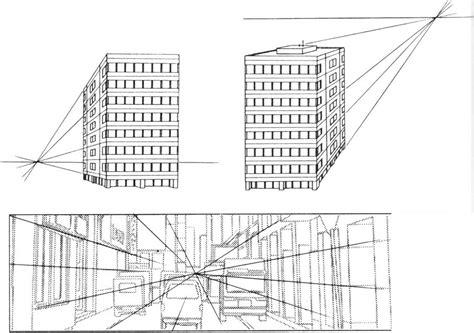 Three Point Perspective Buildings Draw Manga Joshua
