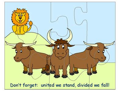 the bulls and the printable jigsaw puzzle
