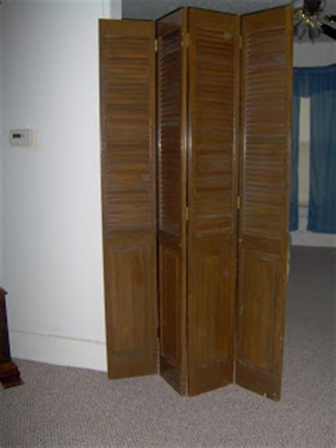 Bifold doors   room divider   My Repurposed Life®