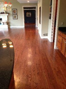 english chestnut stain  white oak stylish floors