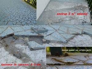 Dosage Beton Terrasse : ragr age ou mortier pour r fection partielle terrasse ~ Premium-room.com Idées de Décoration