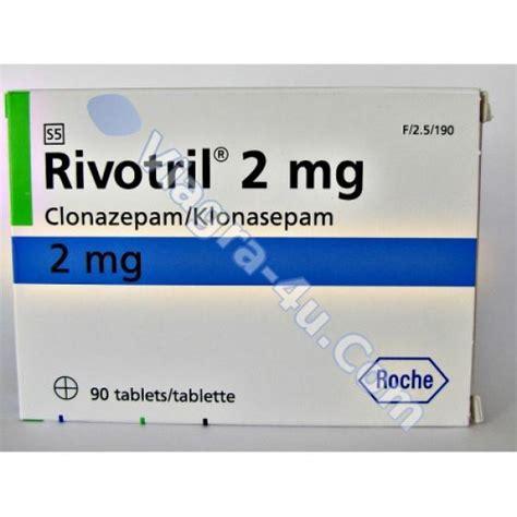 buy rivotril clonazepam 2mg without prescription