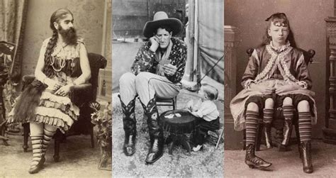 Iconic Freak Show Acts Their Behind The Scenes Stories