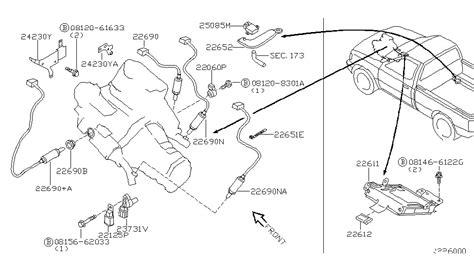 2001 Nissan Frontier Engine Diagram