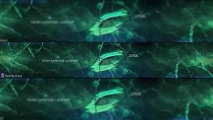 yt banner caze yt 3d banner speed art photoshop cinema4d youtube