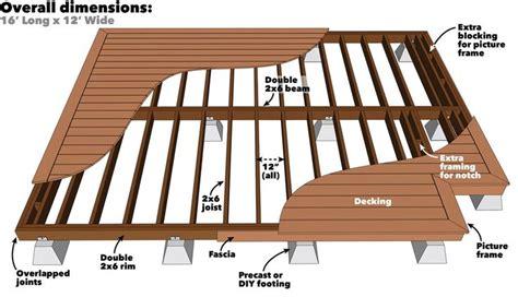 How To Build A Platform Deck Building A Floating Deck