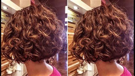 How To Cut A Curly Bob Haircut