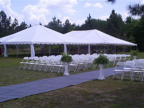 outdoor wedding tents size does matter