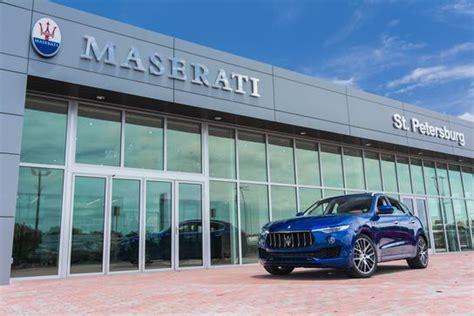 Maseratialfa Romeo Of St Petersburg Car Dealership In