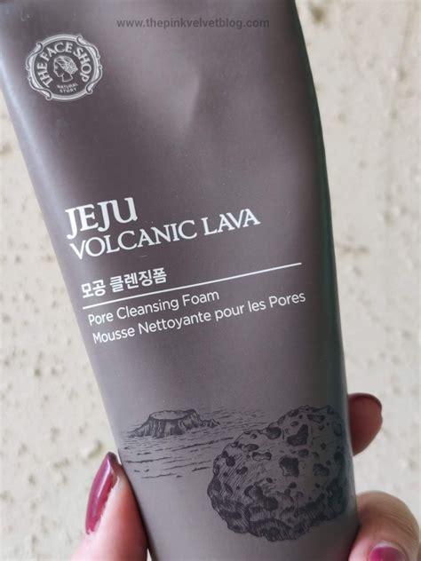 Harga The Shop Jeju Volcanic the shop jeju volcanic lava pore cleansing foam review