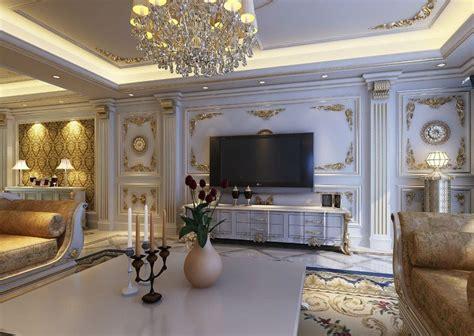 european style luxury living room interior design