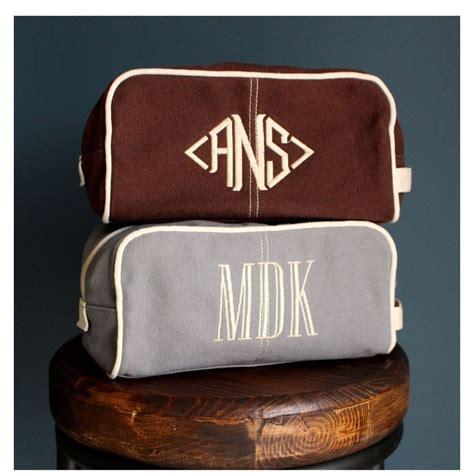 monogrammed toiletry bag dopp kit menboyteen busy bee gift stationery